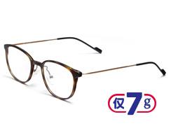 复古圆框防蓝光护目眼镜3506