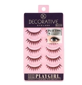 妆美堂PlayGirl DE 5对装米色上睫毛