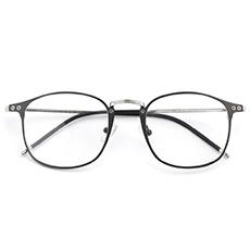 金属大框防蓝光眼镜42068
