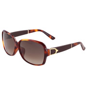 GUCCI古驰时尚板材太阳眼镜3661/F/S 0XTHA 琥珀色