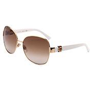 GUCCI古驰时尚板材太阳眼镜1061/F/S WR9SP 琥珀色