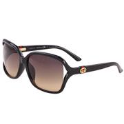 GUCCI古驰时尚板材太阳眼镜3658/F/S D28ED 黑色
