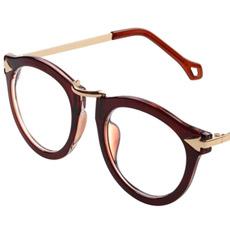 HAN汉代时尚潮款防辐射蓝光镜HD2624-C3 茶色