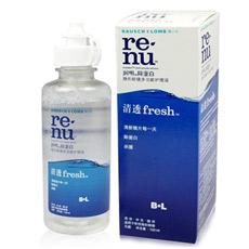 博士伦润明清透fresh 120ml装