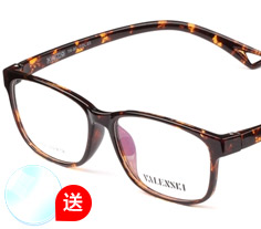 沃兰世奇TR90眼镜架CY8020(两色) + 1.553树脂镜片