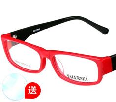 沃兰世奇板材眼镜架8006 (两色) + 1.553树脂镜片