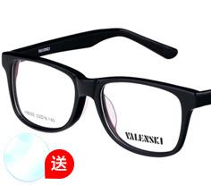 沃兰世奇板材眼镜架8005 (2色) + 1.553非球面树脂镜片