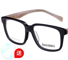 沃兰世奇板材眼镜架M008 (3色) + 1.553非球面树脂镜片
