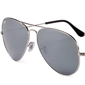 RAY BAN金属太阳眼镜0RB3025 003/4062 银色