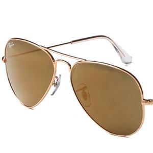 RAY BAN金属太阳眼镜0RB3025 W3276 58 金色