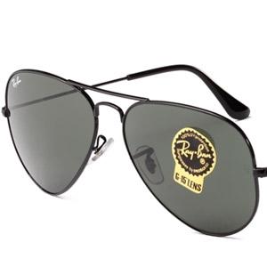 RAY BAN金属太阳眼镜0RB3025 L2823 58 黑色