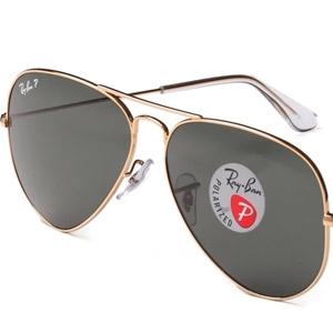 RAY BAN金属太阳眼镜0RB3025 001/5858 金色