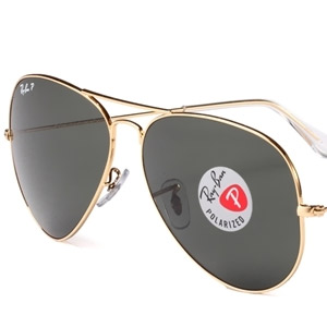 RAY BAN金属太阳眼镜0RB3025 001/5862 金色