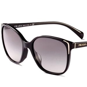 普拉达板材太阳眼镜0PR-01OSA-1AB3M155