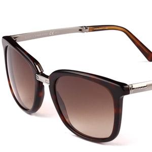 古驰金属板材太阳眼镜1050/S 0WKCC 琥珀色