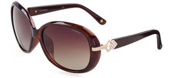 Polaroid宝丽来时尚板材偏光太阳眼镜A8308 B 琥珀色