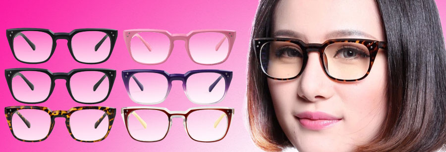 HAN汉代防蓝光辐射眼镜HD2605(6色)