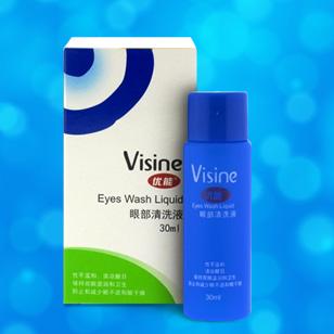 Visine优能眼部洗眼液30ML
