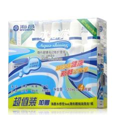 海昌水清新隐形眼镜多效护理液100ml*4瓶