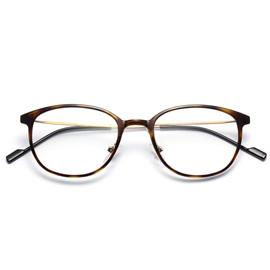 复古圆框防蓝光护目镜3506
