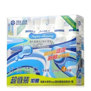 海昌水感觉护理液120ML*4