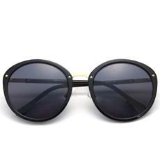 度假必备圆框炫彩防紫外线墨镜59301