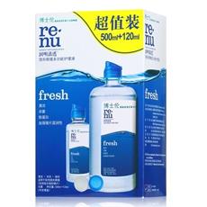 博士伦润明清透fresh多功能护理液500ml+120ml