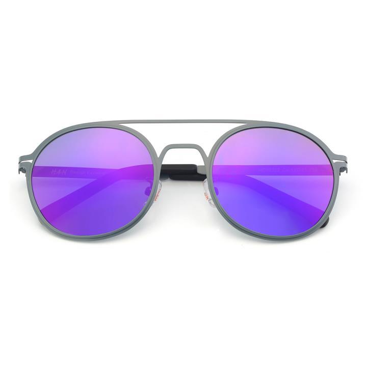 HAN不锈钢偏光太阳镜-时尚蓝紫(HD59322-C2)