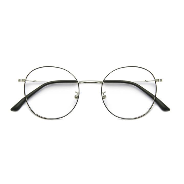 HAN COLLECTION光學眼鏡架HD9023-C8 黑銀