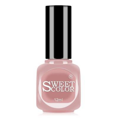 sweetcolor微光疗指甲油12ML奶茶裸 S212