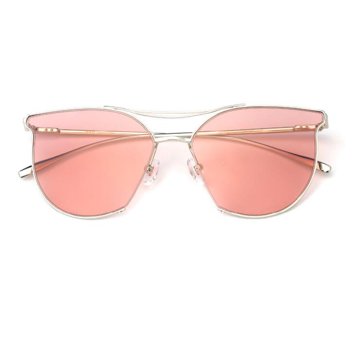 HAN不锈钢防紫外线太阳镜-俏丽粉(HD59120-S17)