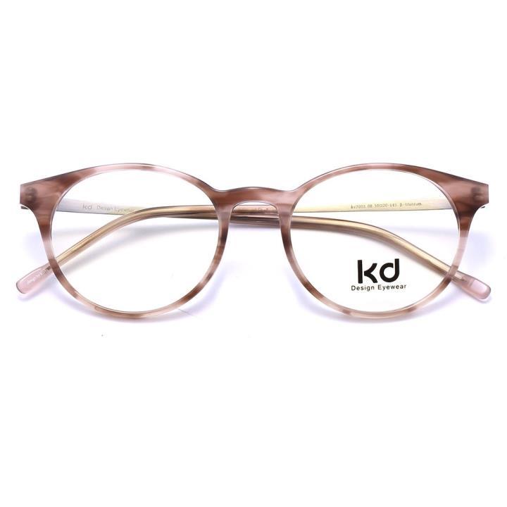 KD设计师手制板材金属眼镜kc7003-C08