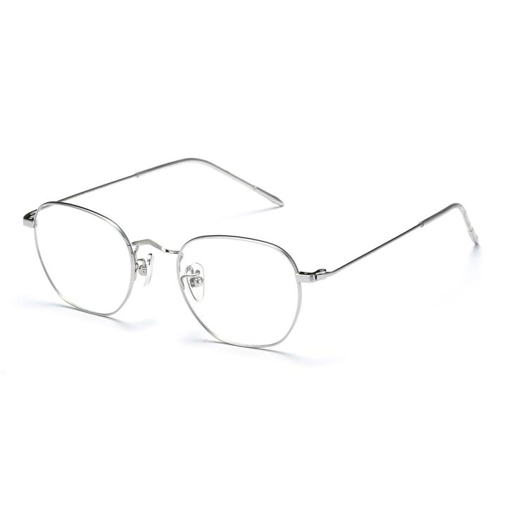 HAN TITANIUM光學眼鏡架HN41040M C3銀色