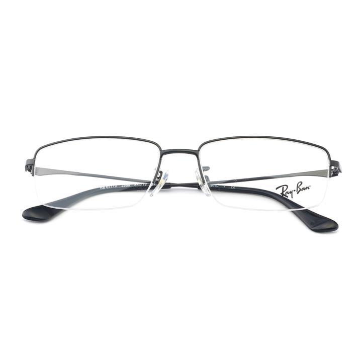 RAY BAN雷朋金属眼镜架-黑色(0RX6371D 2509 56)