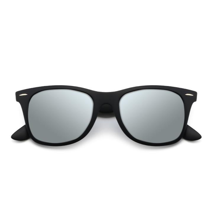 HAN时尚偏光太阳镜HD5818-S09 黑框银色片