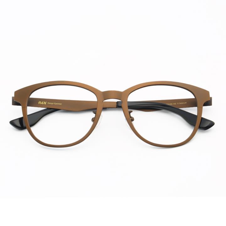 HAN时尚光学眼镜架HD49109-F04炫酷深棕