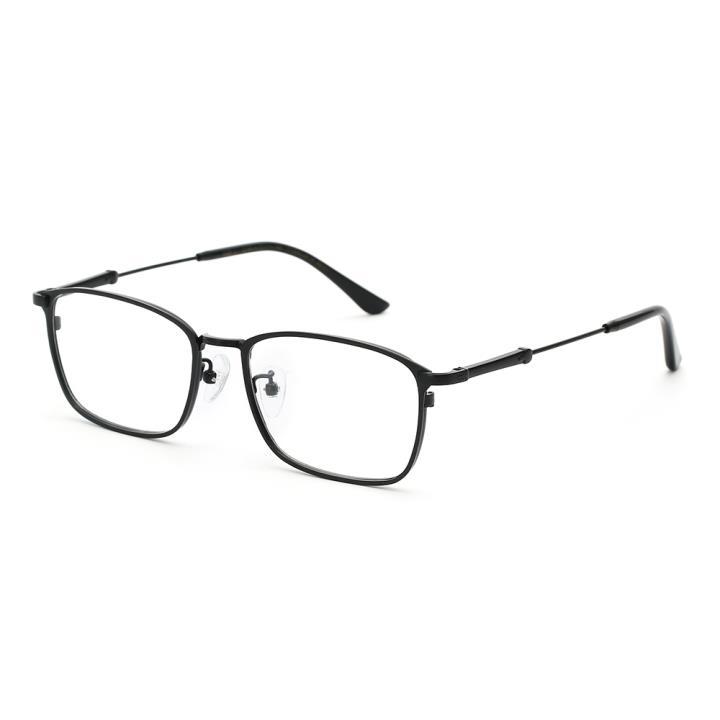 HAN TITANIUM纯钛光学眼镜架HN43031L C1 哑黑