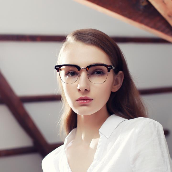 HAN COLLECTION板材光学眼镜架-复古玳瑁(HD4959M F06)