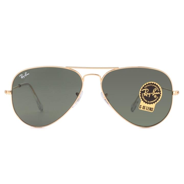 RAY BAN雷朋金属太阳眼镜-金色(0RB3025-L0205-58)