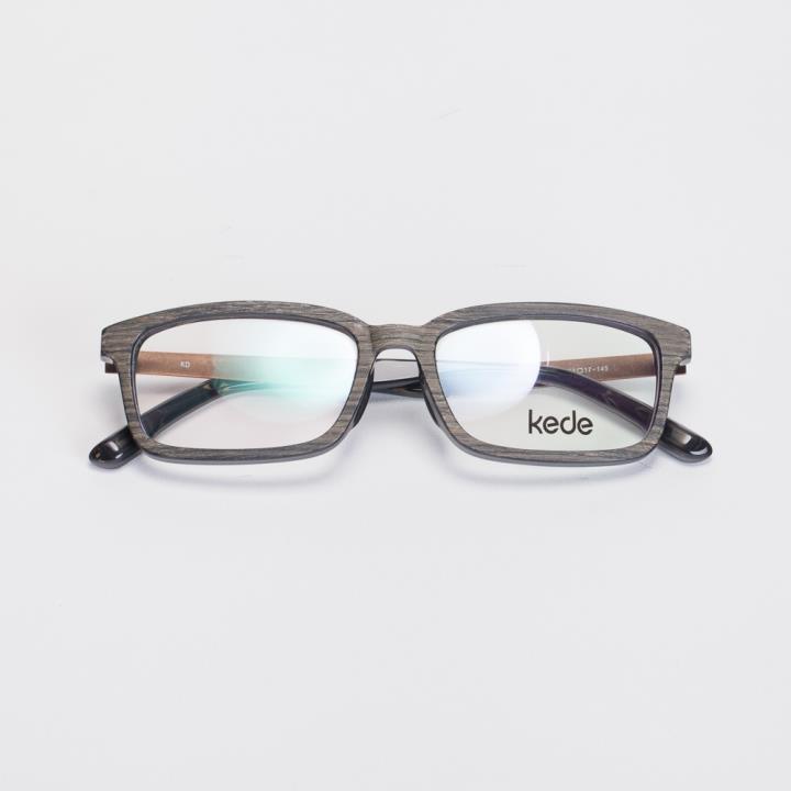 KD时尚光学眼镜架KD1521-F16  黑灰色