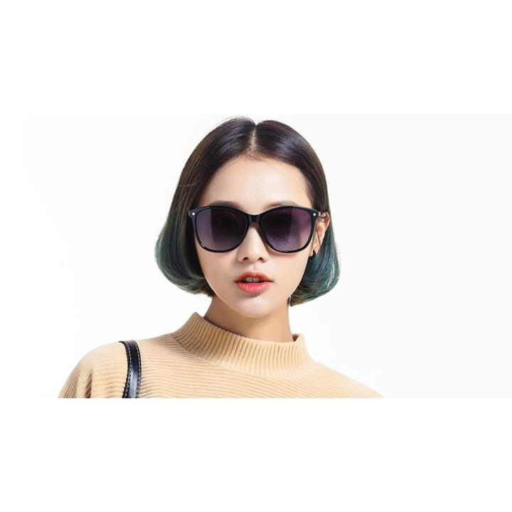 HAN时尚偏光太阳镜HDX5802-S01黑框黑色片