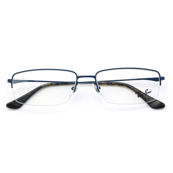 RAY BAN雷朋金属眼镜架-蓝色(0RX6371D 2887 56)