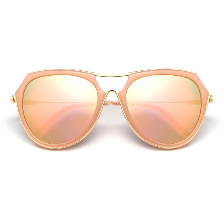 HAN时尚防紫外线太阳镜HD59302-S22 粉框粉色片