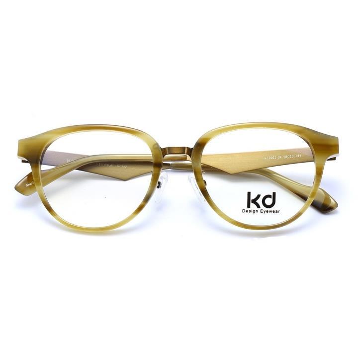 KD设计师手制金属板材眼镜kc7002-C04
