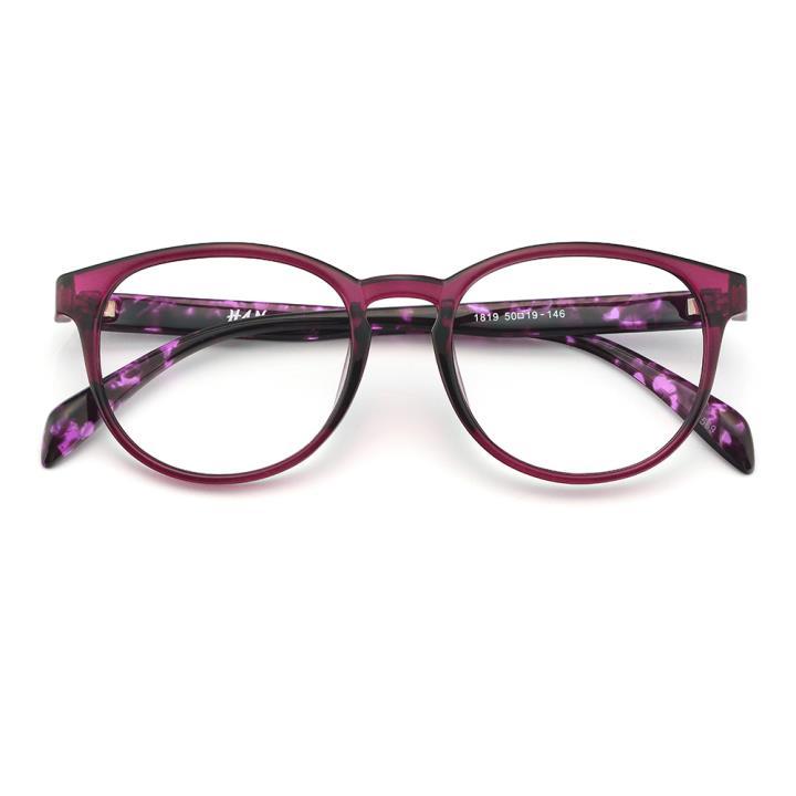HAN MEGA-TR钛塑光学眼镜架-酒红色(1819-C569)