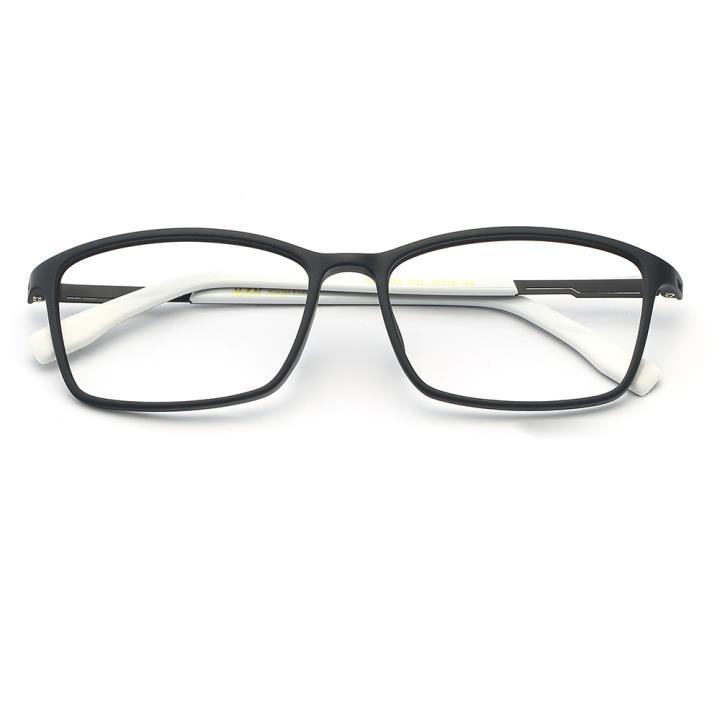 HAN TR板材光学眼镜架-经典哑黑(HD49153-F02)