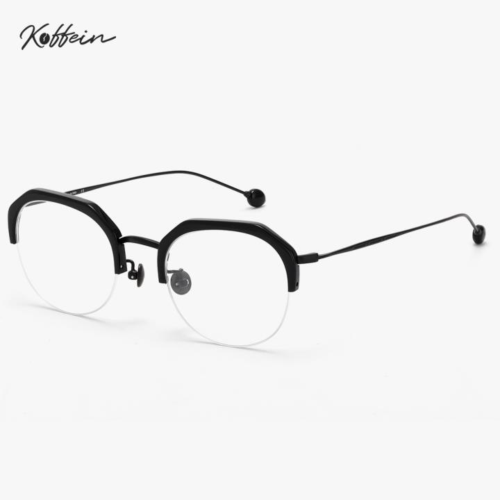 Koffein光学眼镜架Dean COL.2 全黑