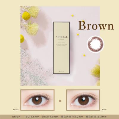 Artital UVM 日抛10片装-Brown (海淘)