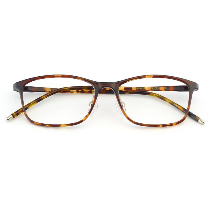 HAN MEGA-TR钛塑光学眼镜架-复古玳瑁(HN49405-C2)