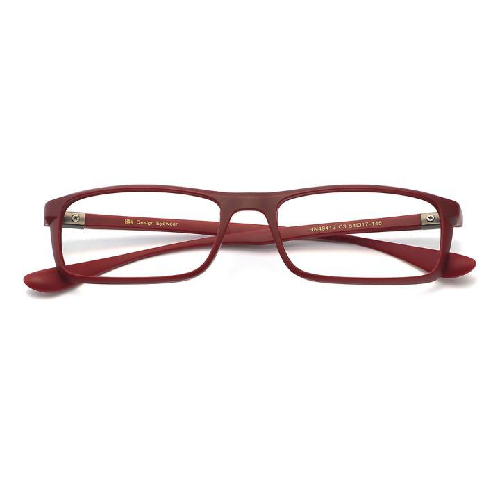HAN MEGA-TR钛塑光学眼镜架-典雅酒红(HN49412-C3)